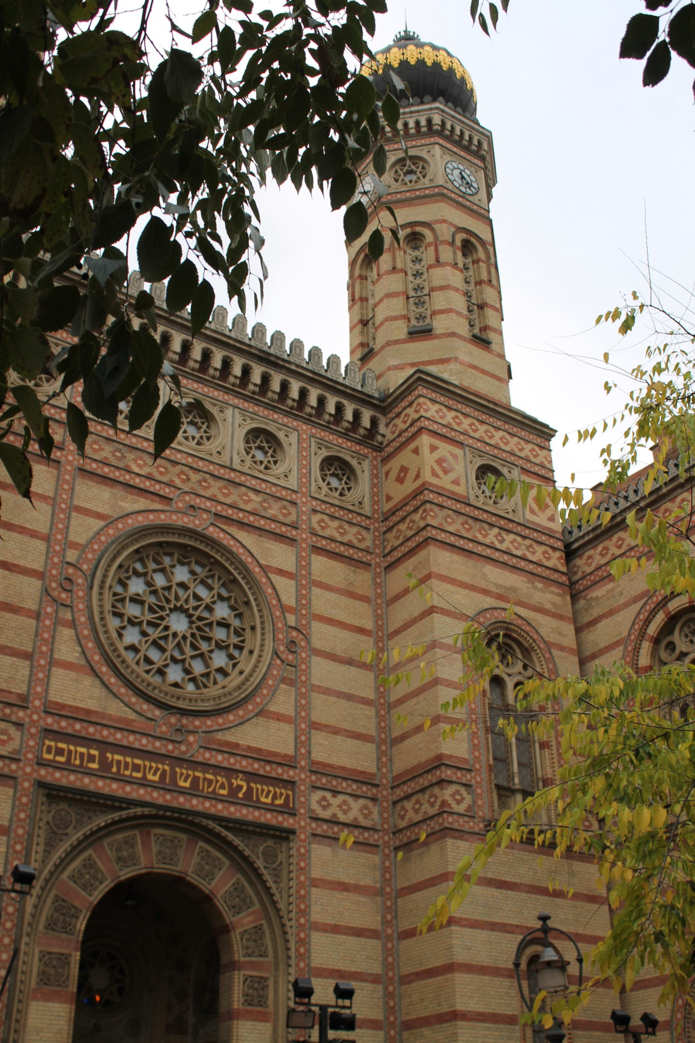 Rundgang Pest - Synagoge